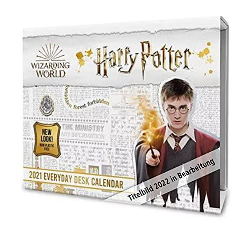 Official Harry Potter 2022 Page-A-Day Desk Calendar- Page-A-Day Desk Calendar: Original Danilo-Tagesabreißkalender [Kalendar] (The Official Harry Potter Desk Block Calendar 2022)