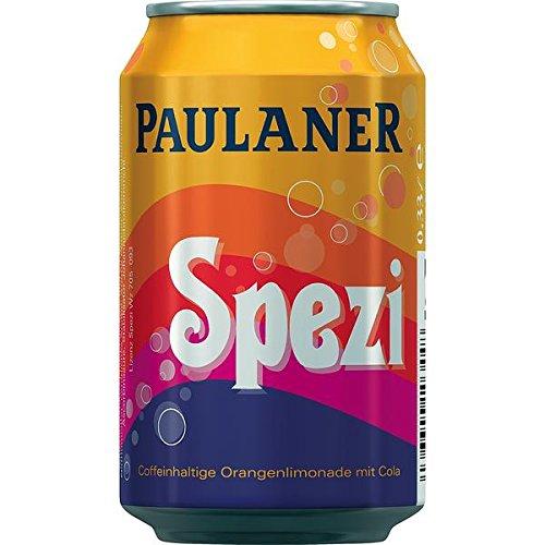 2 x Paulaner Spezi 24 x 0,33L = 48 Dosen EINWEG