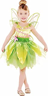 HalloCostume Girls Classic Tinker Bell Costume, Halloween Costumes for Girls