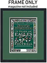 Sports Illustrated Magazine Frame - with Philadelphia Eagles Colors Double Mat