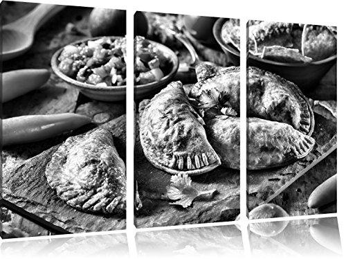 prachtige tortelliniFoto Canvas 3 deel | Maat: 120x80 cm | Wanddecoraties | Kunstdruk | Volledig gemonteerd