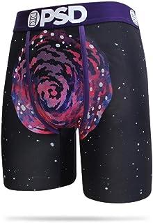 PSD Underwear Men's Rick Morty Spiral Purple Boxer Briefs