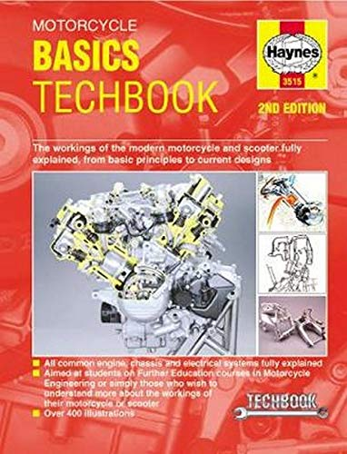 Anon: Motorcycle Basics Manual: The Workings of the Modern Motorcycle and Scooter Fully Explained, from Basic Principles to Current Designs (Haynes TechBook)