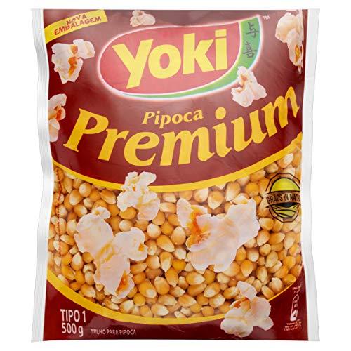 Maíz para palomitas YOKI 500g - Milho para Pipoca Premium YOKI 500g