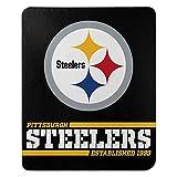 Northwest NFL Pittsburgh Steelers 50x60 Fleece Split Wide DesignBlanket, Team Colors, One Size, 1NFL031040078RET