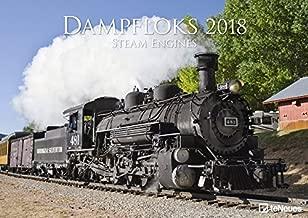 2018 Steam Engines Calendar - teNeues - 42 x 29.7cm