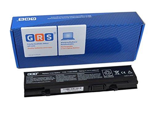 GRS Akku für Dell Latitude E5400, E5500, E5410, E5510, ersetzt: KM742, KM760, T749D, WU841, 451-10616, RM668, KM970, 312-0762, MT332, MT196, Laptop Batterie 4400mAh, 11.1V