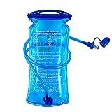B-Earth Bolsa de hidratación, 3L, 2L 1,5L, depósito de Agua de Apertura Grande, a Prueba de Fugas, Bolsa de Almacenamiento de Agua Militar para Ciclismo
