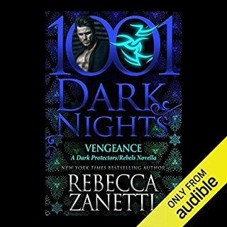 Vengeance     A Dark Protectors/Rebels Novella - 1001 Dark Nights              Written by:                                                                                                                                 Rebecca Zanetti                               Narrated by:                                                                                                                                 Karen White                      Length: 3 hrs and 53 mins     Not rated yet     Overall 0.0
