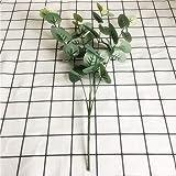 DDFFG Branche Artificielle Branche Artificielle De Printemps Décoration Florale Fausse Plante Feuilles Artificielles