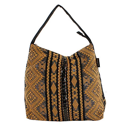 For Time, Bolso shopper Nepal para Mujer, Multicolor, 44x40x4 cm