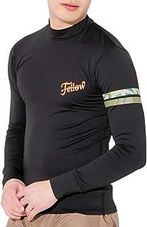 FELLOW(フェロー) ラッシュガード メンズ 長袖 大きいサイズ M~3XL ロング Tシャツ FELLOW UPF50+ 紫外線対策 水陸両用