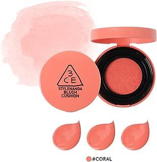 3CE Blush Cushion Newly Launched / Face blush / blush cushion / Stylenanda (Coral)