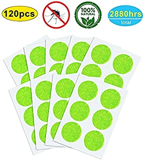 YHmall 120 Pcs Mosquito Repellent Patches, Non-Toxic, Safe for Kids and Adults