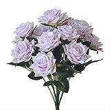 GIAO Selbst Gemachte Dekoration Der Künstlichen Blume Simulierte Blumen Zu Einem Rosenstrauß, Der...