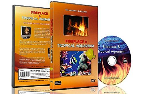 Ambiente DVD - Kamin und Tropen Aquarium - 2 Stunden HD Video Stimmungen mit 25 Minuten Endlosschleifen