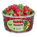 Haribo Waldgeister, Bären, Fruchtgummi, Waldmeister, Dose, 1,2kg