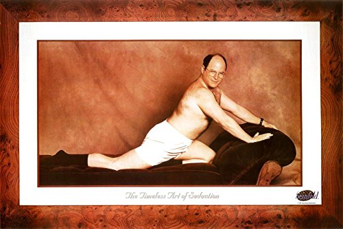 Seinfeld George The Timeless Art of Seduction TV Poster Print Poster Poster Print, 36x24