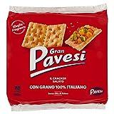 Gran Pavesi Cracker Salati I Classici, Senza Olio di Palma, 18 Pacchetti, 560 g