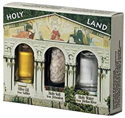 Welcome gifts for new church members include this thoughtful one from the holy land.