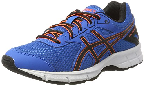 Asics C626N4390, Zapatillas de Running Unisex Niños, Azul (Directoire Blue / Black / Hot Orange), 36 EU