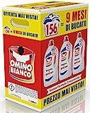 Omino Bianco - Detersivo Lavatrice Igienizzante Liquido, 156 Lavaggi, Igienizza i Capi e Rimuove Germi e...
