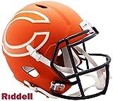 Chicago Bears AMP Alternate Series Riddell Speed Full Size Replica Football Helmet - NFL Replica Helmets