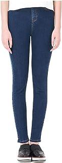 N\P Jeans para las mujeres de cintura alta pantalones vaqueros mujer alta elástico más tamaño elástico jeans mujer lavado ...