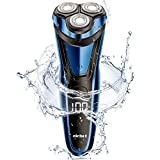 <span class='highlight'><span class='highlight'>Electric</span></span> <span class='highlight'>Shaver</span> <span class='highlight'><span class='highlight'>Men</span></span> Rotary Shaving <span class='highlight'><span class='highlight'>Razor</span></span> with Pop-up Trimmer Wet and Dry by ELEHOT