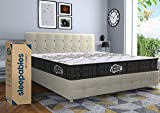 Centuary Mattresses Sleepables 6 Inch Multi Layered Pocket Spring Diwan Size Mattress (78X42X6, Diwan)