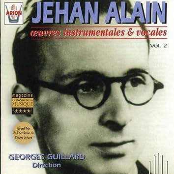 Jehan Alain : Oeuvres instrumentales et vocales, vol. 2