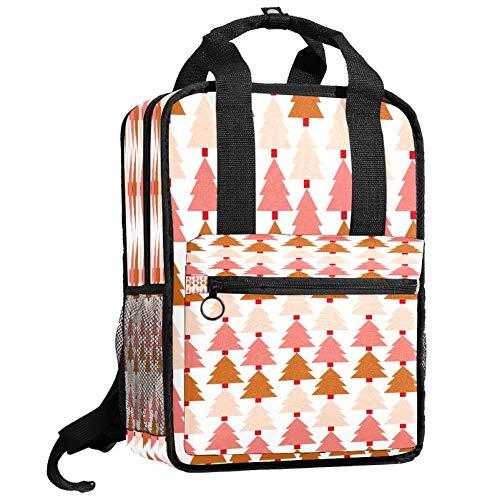 Backpacks Shoulders Bag Christmas Tree Backpack traveling middle school high school