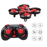 DW1 Mini Quadcopter Drone for kids, 3D flip UFO Design Headless Mode Mini