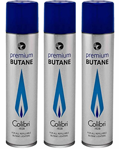 Colibri 90ml Premium Butane Fuel Gas Refill 3 - Pack