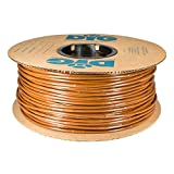 DIG Corporation Drip Line 500', 6' Emitter Spacing, 1/4' .52 GPH, Color : Brown - Drip Irrigation Tubing, Soaker Hose (.170 ID x 240 OD)