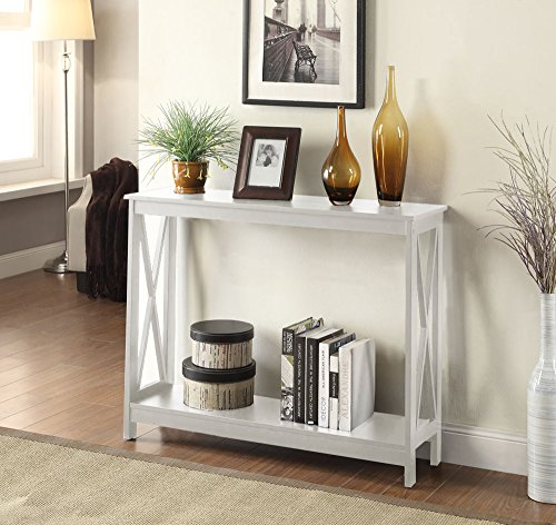 Convenience Concepts Oxford Console Table, White