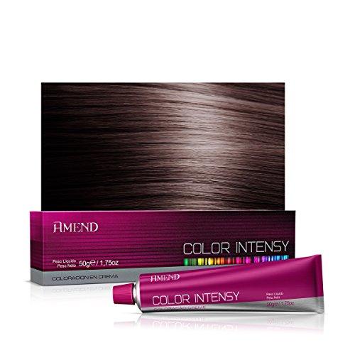 Coloração em Creme Color Intensy, Amend, 4.0 Castanho Médio, 50 g