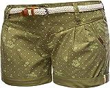 Ragwear - Pantalones cortos de verano para mujer (orgánicos, 26-31) Olive20. 31