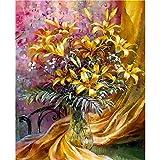 yaoxingfu Pas de Cadre Fleur Moderne Peinture Murale Art Salon décoration de la Maison 30x45cm