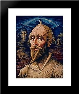 Friendship of Don Quixote 20x24 Framed Art Print by Ocampo, Octavio