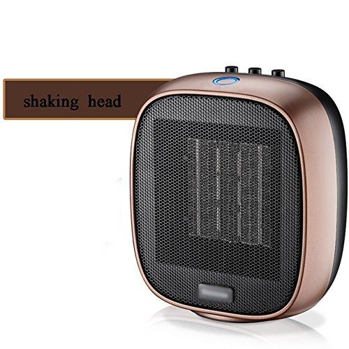 Heater NAN Chauffage Chauffe-Céramique Noir Rose Or 1500W Grand Commotion Mini Bureau de Ménage Instantanée (Couleur : 4)