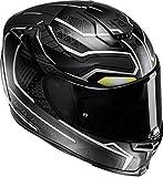 HJC 14377510 Casco de Moto, Black Panther, Talla XL