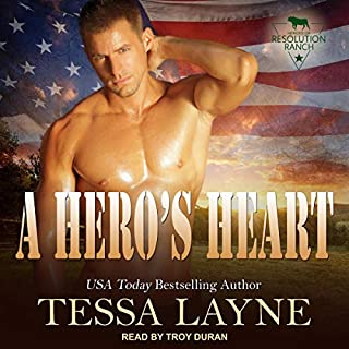 A Hero's Heart audiobook cover art
