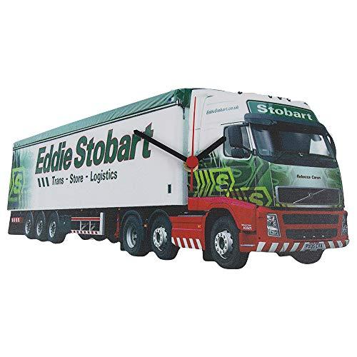 Eddie Stobart (wit) Klok