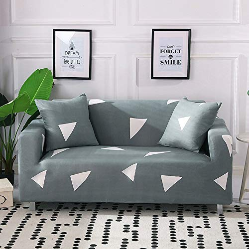PPOS Protector de sofá Fundas de sofá Impresas para Sala de Estar Funda elástica elástica Fundas de sofá de Esquina seccionales A3 4 Asientos 235-300cm-1pc