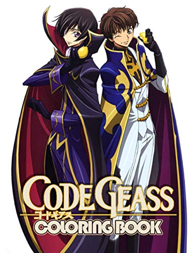 Code Geass Coloring Book: More Than 100 Pages Of Fun Coloring For Kids And Teens