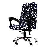 Housse de chaise Spandex Housses de siège Fauteuil tâche Housse de chaise Slipcover ordinateur de bureau...