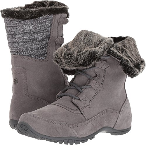 The North Face Women's Nuptse Purna II Boot - Frost Grey & Iron Gate Grey - 10.5