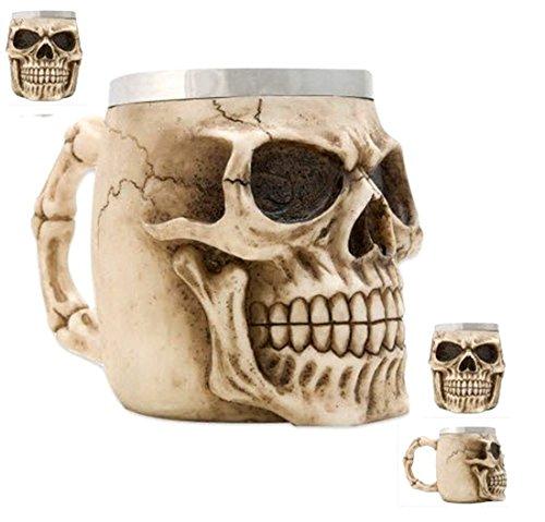 Weird skull mug