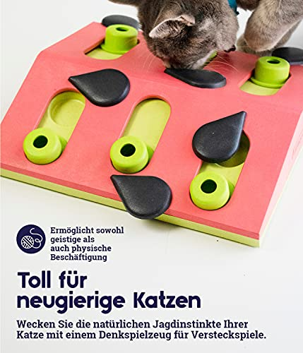 Product Image 6: Petstages Nina Ottosson Melon Madness Puzzle & Play – Interactive Cat Treat Puzzle